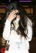 Kendall Jenner leaving a Movie Theater in Hollywood 12/26/11