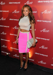 Эдриэнн Байлон, фото 28. Adrienne Bailon attends the Alize Mix Squad debut party at the Penthouse at Hotel Rivington on June 21, 2011 in New York City, photo 28
