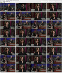 Tina Fey ~ The Late Show with David Letterman 1/5/12 (HDTV 1080i)
