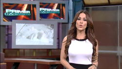 Jackie Guerrido - Primer Impacto - Weather Babe