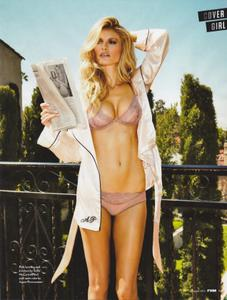 Marisa Miller FHM sexy lingerie photo