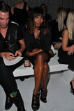 Naomi Campbell @ Givenchy Spring/Summer Fashion Show during Fashion Week in Paris | October 2 | 7 pics