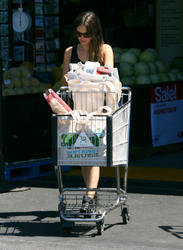 Rachel Bilson Grocey Shopping At Whole Foods on July 19, 2012 (HQS)